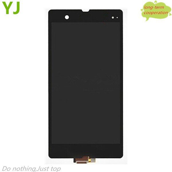 HK free shipping 100% Tested for LCD Display + Touch Screen Digitizer Assembly Replacement for Sony Xperia Z C6603 L36h