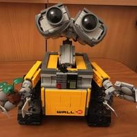Самые дешевые стены E совместимые Legoings Строительные кирпичи идея робот 687 шт. строительные блоки игрушки для детей