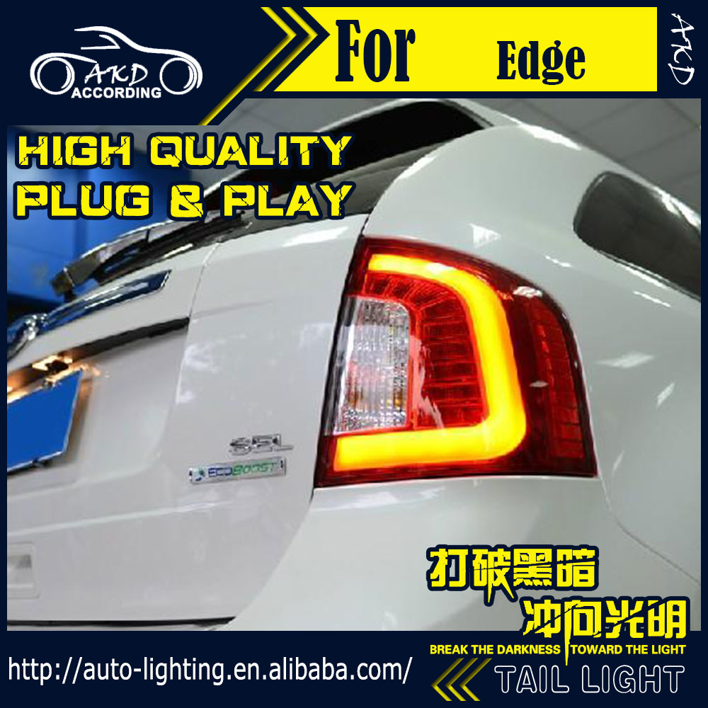 Tail-Lamp Rear-Lamp-Accessories Ford Edge-Tail-Lights Signal LED Drl-Stop Car-Styling