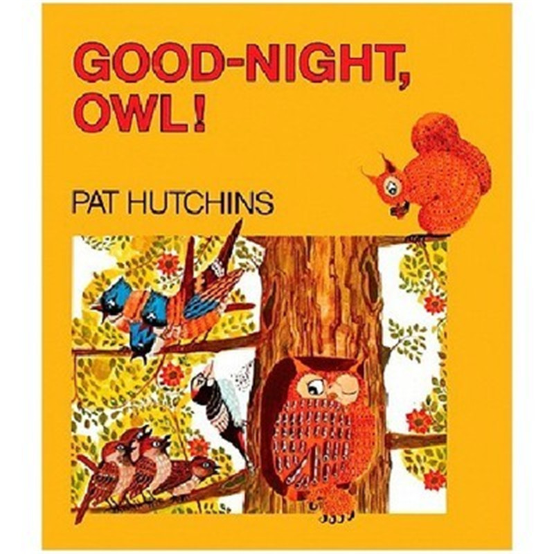 English Picture Book Good Night Owl Looking Through The Book Look Inside Kid Original Baby Educational Gift