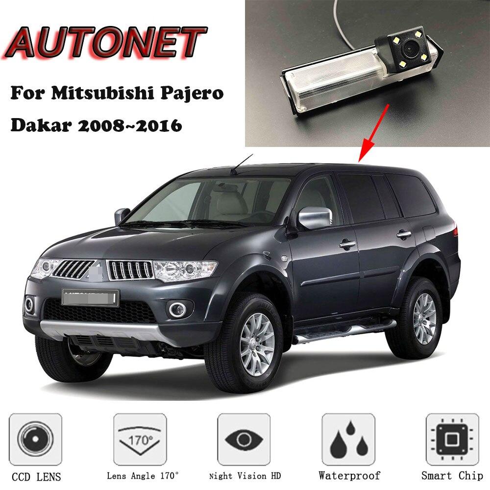 AUTONET Backup Rear View camera For Mitsubishi Pajero Dakar 2008~2016  CCD/Night Vision/parking Camera Vehicle Camera     - title=