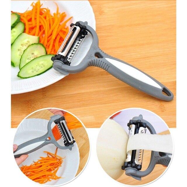 Multi function Potato Peeler – 3 blade – 360 Degree Rotary Vegetable Peeler