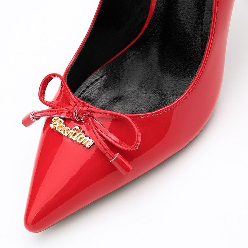 Pompes 9 Pointu Noeud Bigtree Bout Talon Cm kaki Étrange Scarpins Femme Noir Rouge Papillon Haute Chaussures Sexy Talons Urworthit rose rouge z8fa6wP5q6