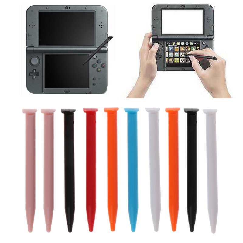 Пластиковая сенсорная ручка для игровой консоли, 10 шт., для Nintendo 2DS XL / LL