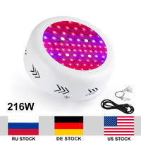 216W Growing Lamp AC85 265V Full Spectrum UFO Led Grow Light Box For Indoor Plants Growth Flowering Whole Period