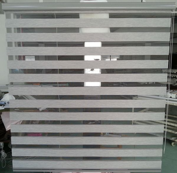 grey window blinds grey colour roller zebra blinds custom cut to size woodlook grey horizontal window shade blind dual blindsin blinds shades shutters from home garden