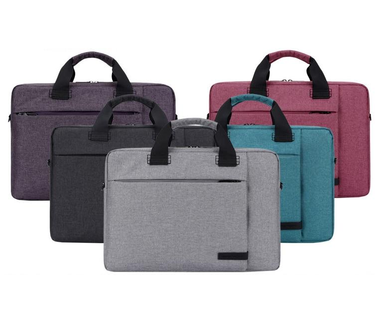 13 14 15 15,6 tums Vattentät Nylon Laptop Bärbara Väskor Väska - Laptop-tillbehör