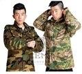 Envío libre, ejército táctico uniforme multicam hombres chaqueta militar, molle ciras chaleco equipo. Eur tamaño al aire libre M65 escudo