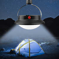 60 LED Camping Light Bright Rechargeable Lamp With Hanging Hook