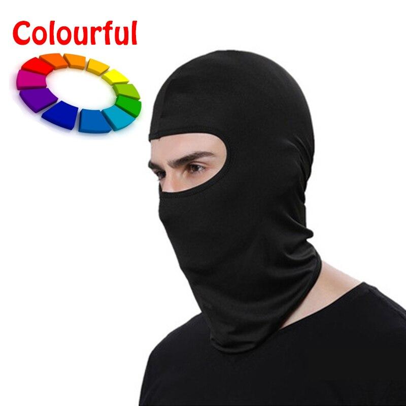 Masked Cap Kopfbedeckungen Maske Doppel Thick Windproof Gesichtsschutz Warm Kalte Außen Reiten Sport Winter Skifahren Männer Schutzhelm