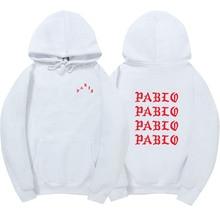 Жизнь Пабло Канье Уэст Пабло Толстовка Для мужчин/Для женщин хип-хоп тянуть Париж открытие Санкт-Пабло я чувствую как Paul кофты