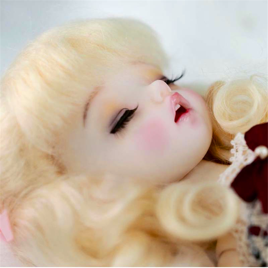 AQK(AQK)BJD/ SD Sleeping eyes baby girl 1/6 Baby Girl Free Eyes zaz caen