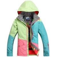 High Quality Ski Jacket Cotton Thickened Snowboard Coat Outdoor Winter Warm Snowboard Suit Women Ski Snowboard