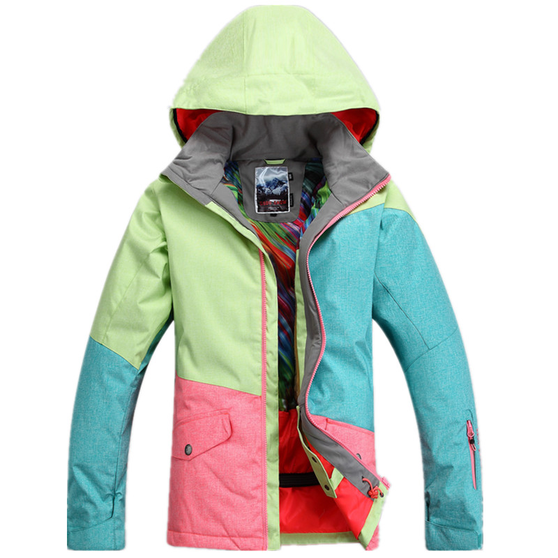 High Quality Ski Jacket Cotton Thickened Snowboard Coat Outdoor Winter Warm Snowboard Suit Women Ski Snowboard Jacket running river brand winter thermal women ski down jacket 5 colors 5 sizes high quality warm woman outdoor sports jackets a6012