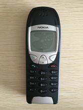 6210 oryginalny Unlocked Nokia 6210 telefon komórkowy 2G GSM 900 1800 odblokowany telefon komórkowy darmowa wysyłka tanie tanio 128 M Odnowiony Innych 2 0 Włoski Francuski Niemiecki Rosyjski Hiszpański Polski Angielski Portugalski Turecki Normalne ( 10mm)