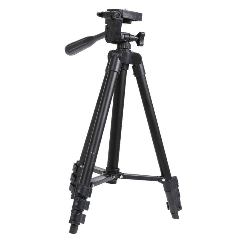 Soporte de trípode de cámara Digital de montaje de Smartphone de foto portátil trípode de viaje Universal profesional para cámara de acción deportiva