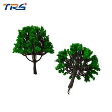 Teraysun 6cm height green model tree for architectural scale layout 100pcs