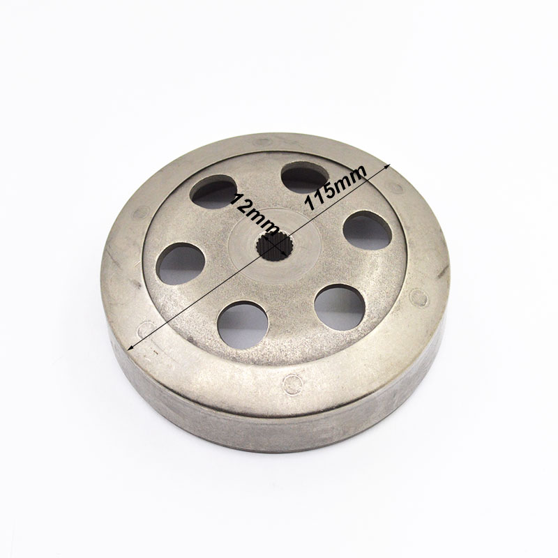 Motorcycle Driven Wheel Clutch Block Centrifugal Shoes Cover Cap for GY6 50cc 60cc 80cc 139QMA 139QMB Spare Parts