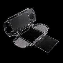 حافظة واقية من الكريستال الشفاف لحمل الأشياء الصلبة حافظة للحامل مصنوعة من السيليكون لحماية الأشياء الإضافية حقائب لحمل أجهزة سوني بلاي ستيشن PSP 2000 3000