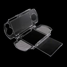 Clear Crystal Protective Hard Carry Cover Case Housing Snap in Protector Carrying Case Molds for Sony Playstation PSP 2000 3000