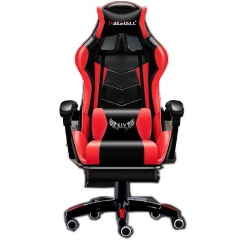 High Quality D-1 Live Gaming Silla Gamer Poltrona Esports Synthetic Leather Chair With Footrest Can Lie Office Furniture