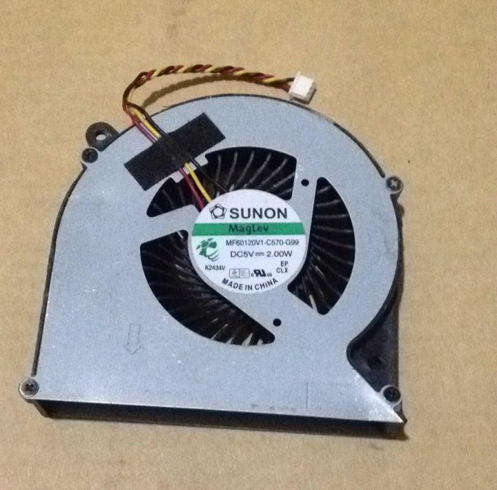 SSEA Brand New CPU ventilator de răcire pentru Toshiba Satellite C850 C855 C870 C875 L850 L855 L870 P / N MF60120V1-C570-G99 3 pini