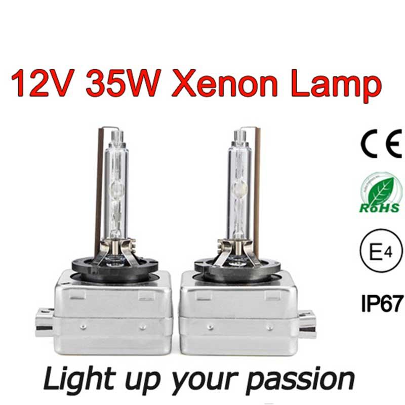 2db xenon D1S D1C HID Izzó csere 4300K 5000K 6000K 8000K xenon - Autó világítás - Fénykép 4