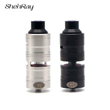 ShenRay Gevolution V2 RDTA 23MM 25MM 316 Stainless Steel Rebuildable Vape Tank 4ml Capacity Adjustable Hookah Vaporizer Atomizer стоимость
