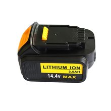 GTF 14.4V 3000mAh Tool Battery For Dewalt DCB140, XR DCB140-XJ, DCB141, DCB-141-XJ, DCB142, DCB142-XJ Replacement Li-ion