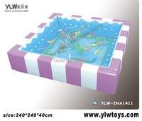 glass fiber reinforced plastics water bed for kids,amusement indoor playground equipment,Children playground toy YLW INA1867