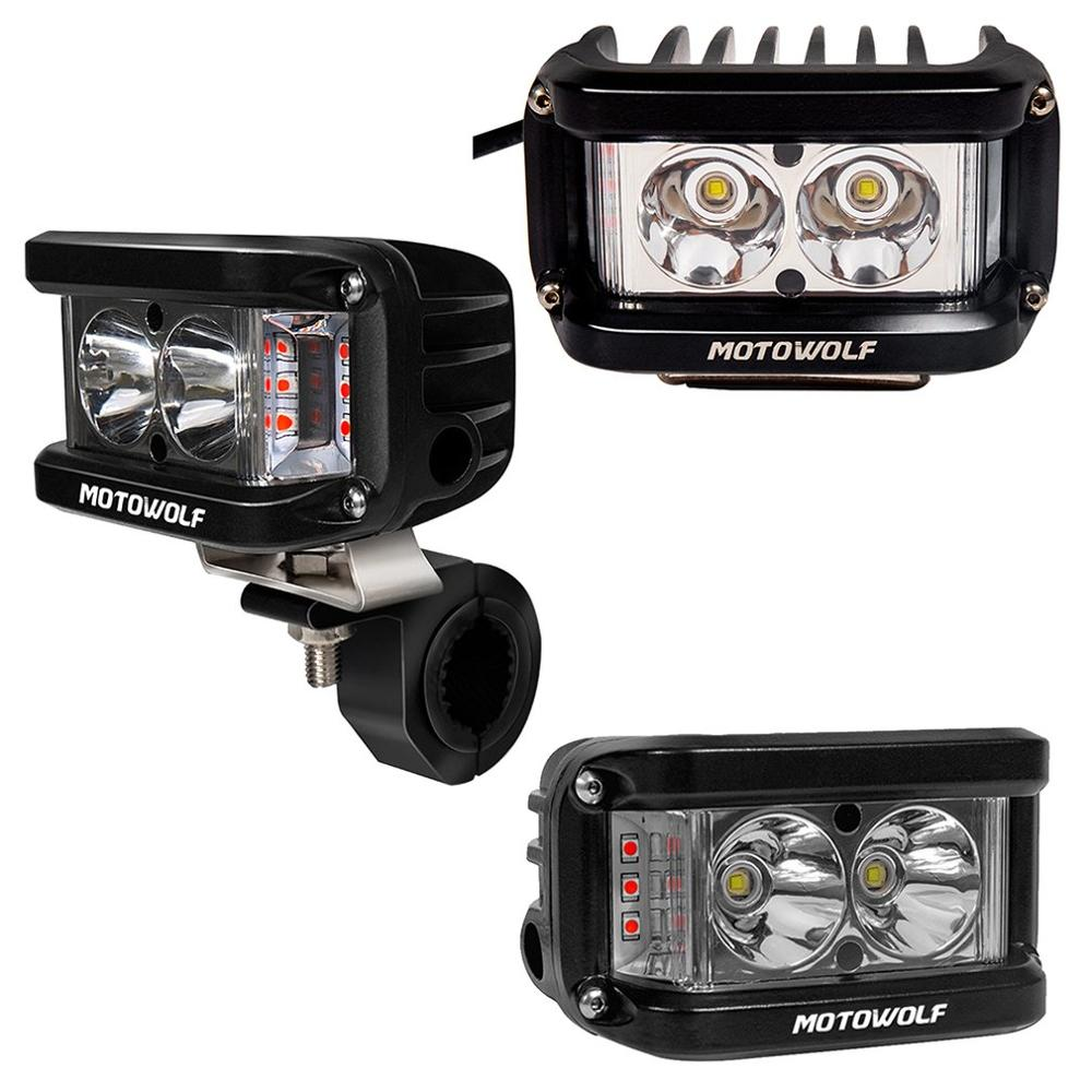 Motorcycle Headlights High Brightness Exterior Headlights Motorbike LED Lamp