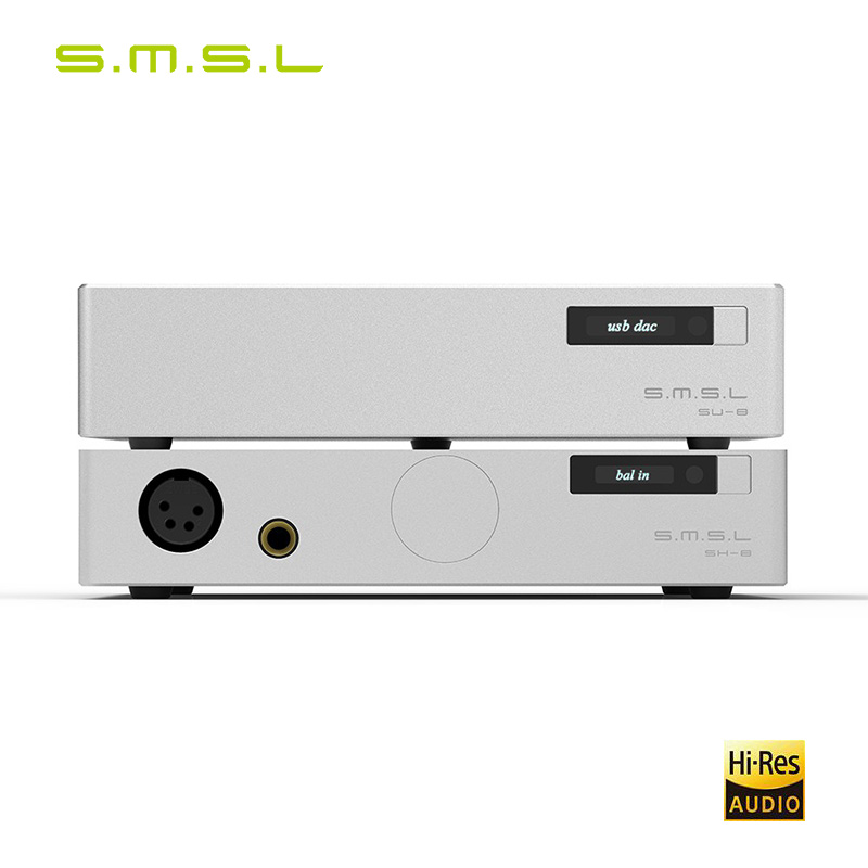SMSL 88 Suit SU-8 2ES9038Q2M DSD Balance DAC Decoder  And  SH-8 High Performance Headphone AmplifierSMSL 88 Suit SU-8 2ES9038Q2M DSD Balance DAC Decoder  And  SH-8 High Performance Headphone Amplifier