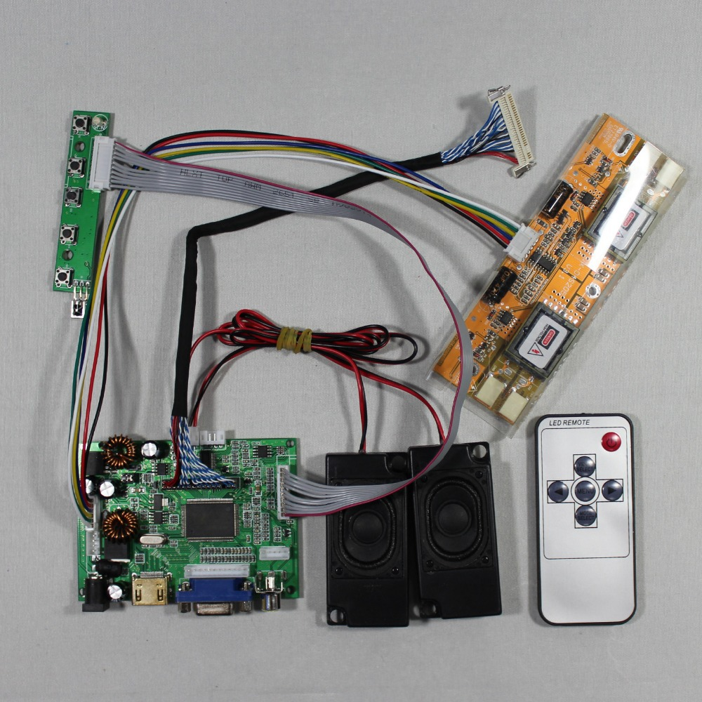 HDMI+VGA+2AV+Audio LCD driver board for 17inch~19inch M190EG03 1280x1024 Lcd M170EG01 M170EN06 5 LTM170E6 LTM170E8 HSD170ME13 hdmi vga 2av driver board 10 1inch 1024 600lcd pane b101aw03 ltn101nt02 lp101ws1
