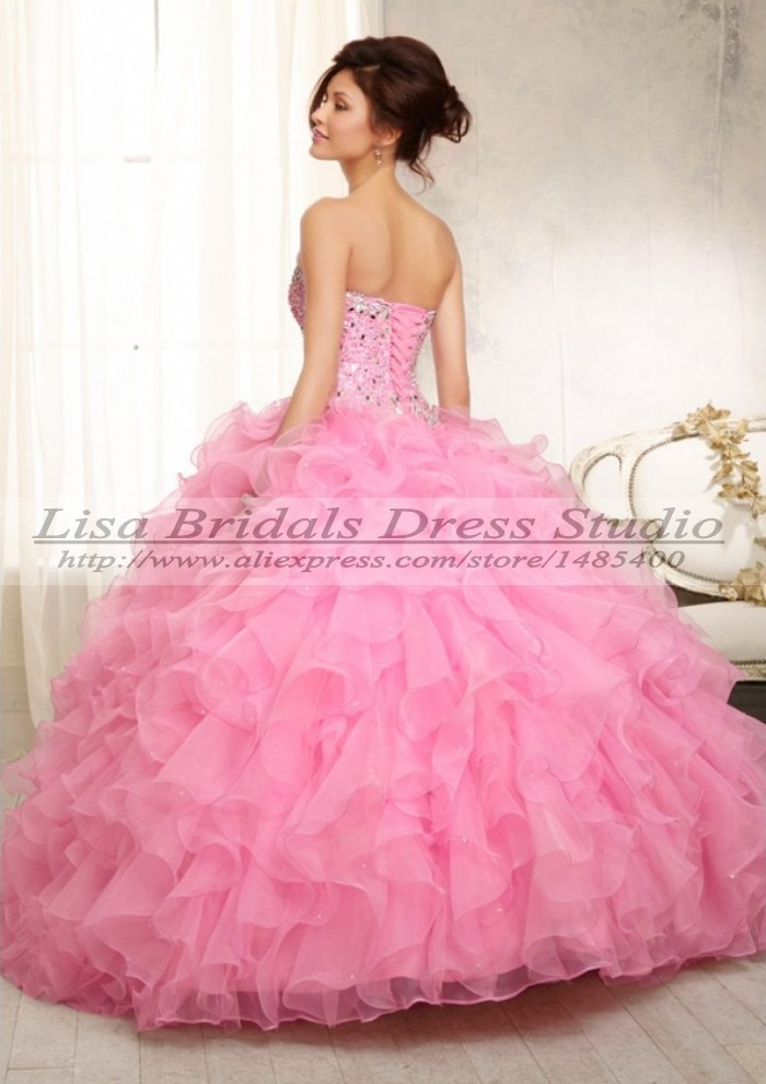 2f0b0a894a Vestido de 15 Anos de Debutante Cheap Hot Pink Quinceanera Gowns Masquerade  Ball Gowns Debutante Gowns 2014 Vestidos 15 Anos-in Quinceanera Dresses  from ...