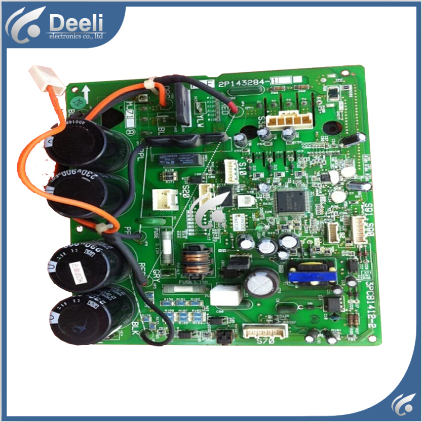95% new good working for inverter air conditioning unit board RXD35DV2C FTXD25DV2CG RXD35FV2C KFR-35G/BP circuit board 95% new used original for midea air conditioning board frequency board kfr 35g dy gc e1 circuit board