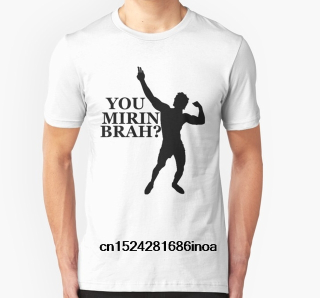 a777c0f4bf87eb Fashion Cool Men T shirt Women Funny tshirt Zyzz You Mirin Brah Black  Customized Printed T