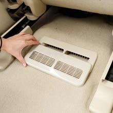Интерьер автомобиля сиденье Кондиционер Выход отверстия Защитная крышка для Nissan Patrol Y62 Armada 2015 2016 2017 2018 аксессуары