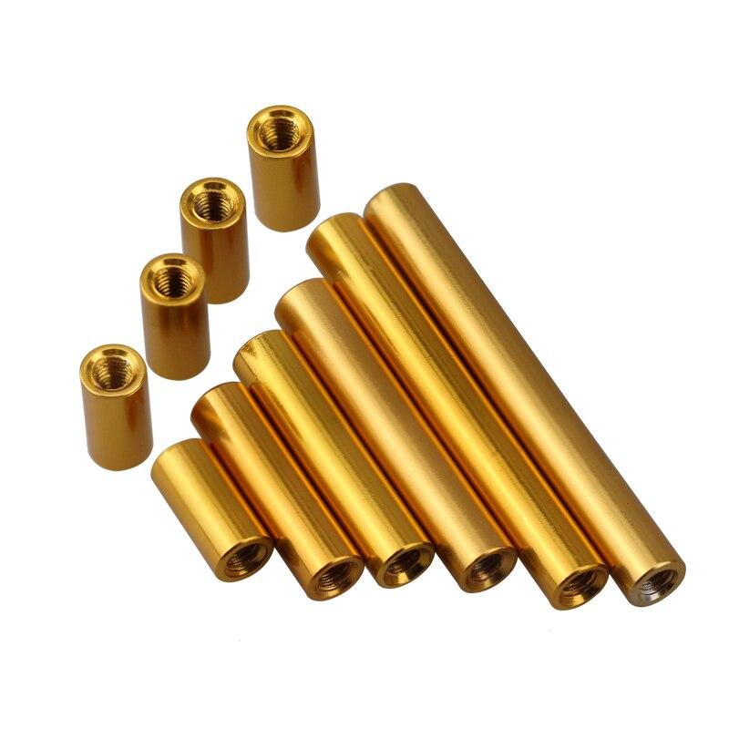 圆形铝柱金色-1
