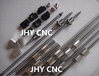 3 lineer Kılavuzlar RM1605 SBR Raylar setleri + 3 ballscrews + 3BK/BF12 + 3 kuplörler