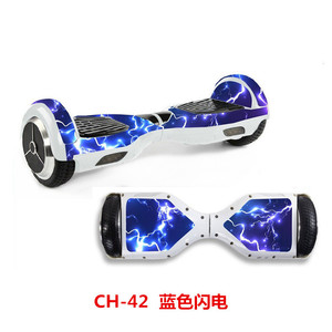 Image 3 - 6.5 inch Electric scooter Sticker Gyroscooter hoverboard Skateboard sticker Blance wheel board giroskuter overboard Sticker