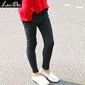 LouisDog preto calças legging magras adolescentes crianças meninas calças lápis de moda para a Primavera Outono Inverno tamanho 6-16Y