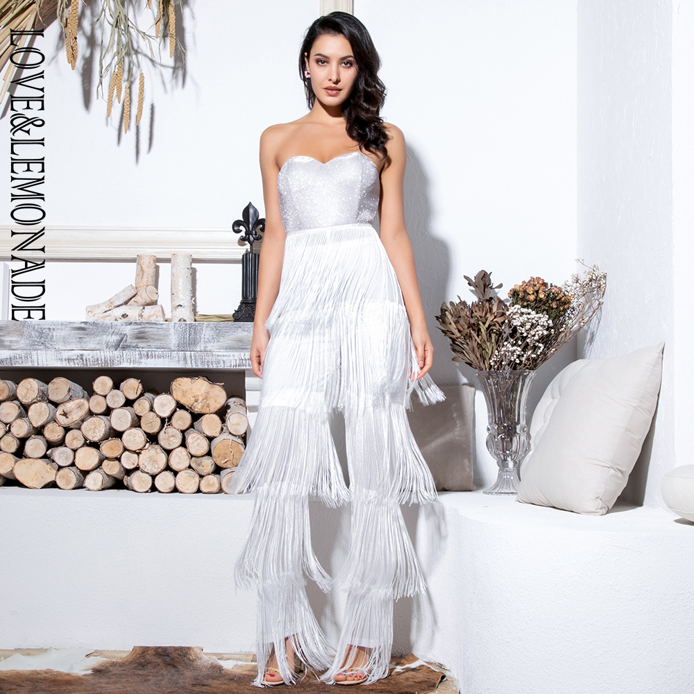 962702672bff Buy white tube jumpsuit and get free shipping on AliExpress.com