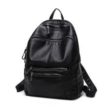 2017 г. Лидер продаж модные женские туфли рюкзак pu ноутбук Sacs à DOS для подростков Meninas женские школьные сумки на ремне Рюкзак Женщины