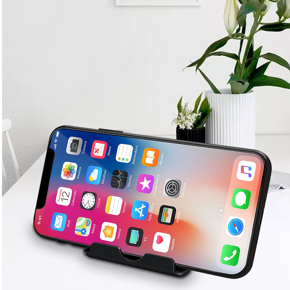 Ascromy Mobile Phone Stand Desk For iPhone X 8 Plus 7 6 Xiaomi OPPO Find X Samsung S8 Cell Holder iPad Pro 11 2018 Tablet Stand Accessories (5)
