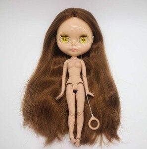 Image 5 - Poupée Blyth nue de corps commun, poupée dusine, appropriée pour la peau de bronzage de cheveux bruns de bricolage 20181029