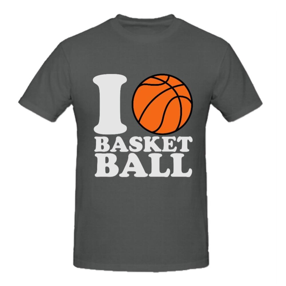 Dart shirt design your own - Basketball Tshirt Designs Rttmall Retro Top Designer Tee 100 Cotton I Love Basketball Printed Male