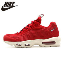 Nike Air Max 95 TT Pack Slow Shock Running Shoes Red For Men And Women AJ1844-600 40-45(China)