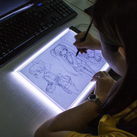 Diamond Painting Cross Stitch Kits Dimmable Ultra Thin A4 LED Light Tablet Pad Apply To EU