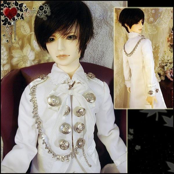 8cc70c6a8a  Wamami  510   biały książę garnitur 3 pc 1 4 msd dod bjd chłopiec dollfie  outfit