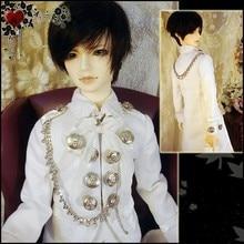 510# White Prince Suit/Outfit 3pc 1/4 MSD DOD BJD Boy Dollfie 251 vocaloid hatsune miku uniform suit for 1 3 sd aod dod dz bjd dollfie